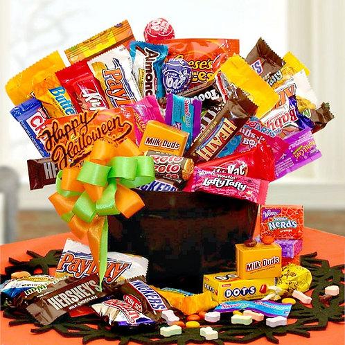 Halloween Candy Cauldron Of Treats
