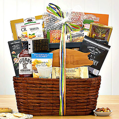 Hot Off The Grill, BBQ Lovers Grill Master Gift Basket