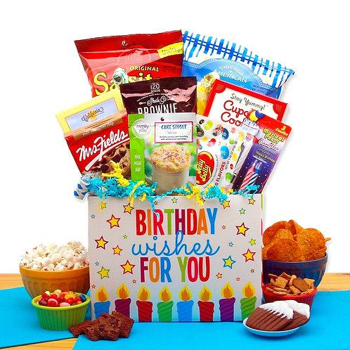 A Birthday Celebration Gift Box Of Happy Birthday Wishes