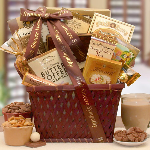 Sending Prayers, Sympathy Gift Basket