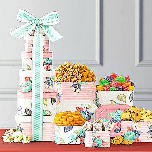 Summer Celebration Gourmet Gift Tower