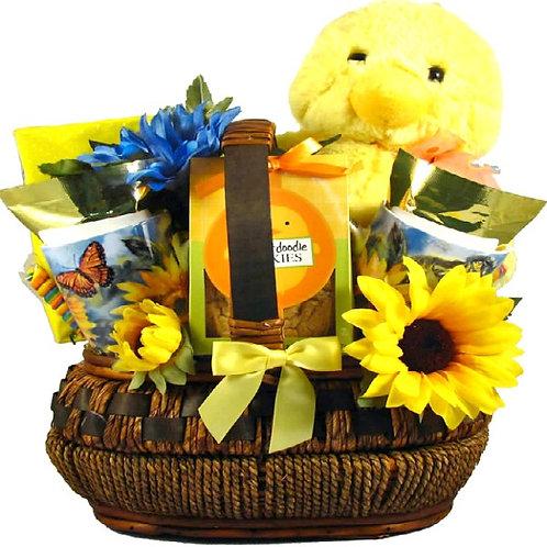 Easter Gift Basket, You Quack Me Up