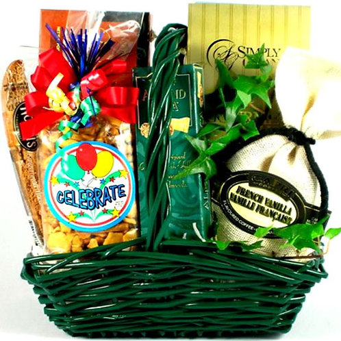 Time to Celebrate! Celebration Gift Basket