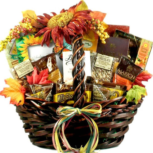 Lovely Fall Gift Basket Great Thanksgiving & Autumn Gift