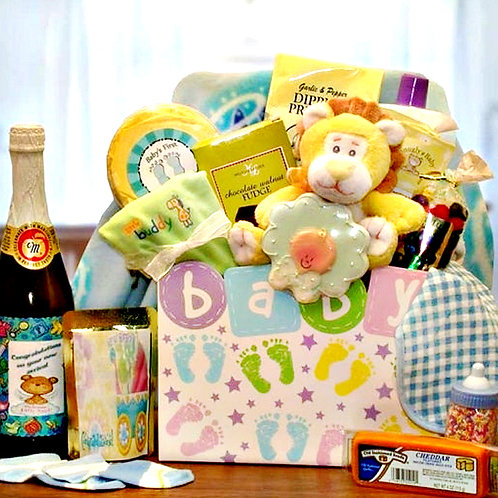 New Baby Celebration Gift Box, Congratulate New Parents