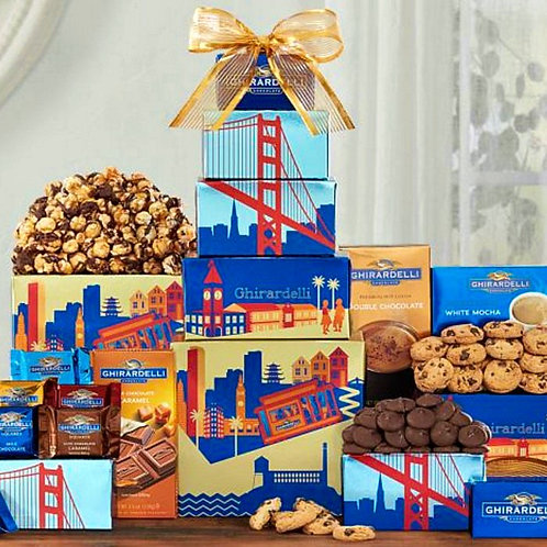 Ghirardelli Chocolate Company Gift Tower