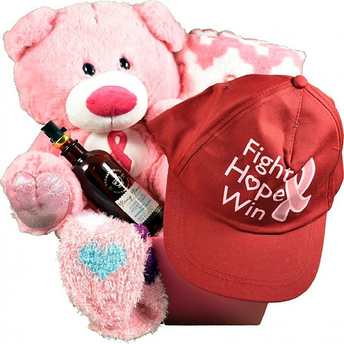 Fight, Hope, Win! Thoughtful Breast Cancer Care Package