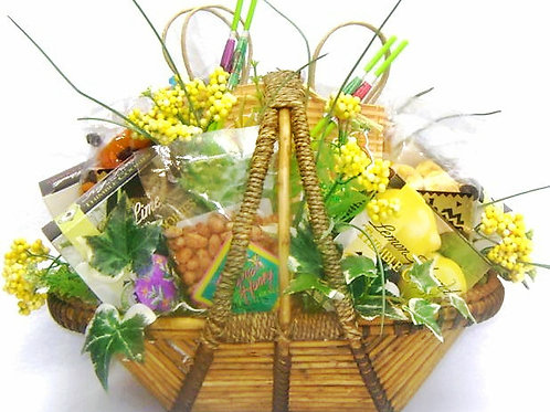 "Island Time ""Taste Of The Tropic"", Tropical Gift Basket, Sure To Please"