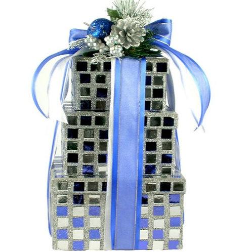 Shimmering Kosher Gift Tower