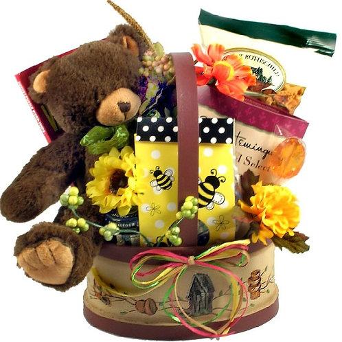 Teddy Bear Hugs, Gift Basket