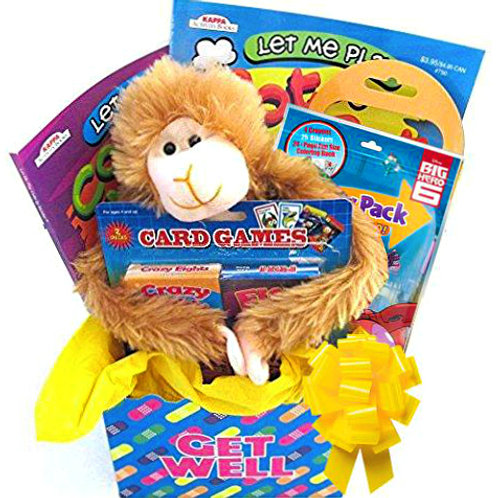 Kids Feel Better Gift Basket For Boys & Girls Ages 3 - 9