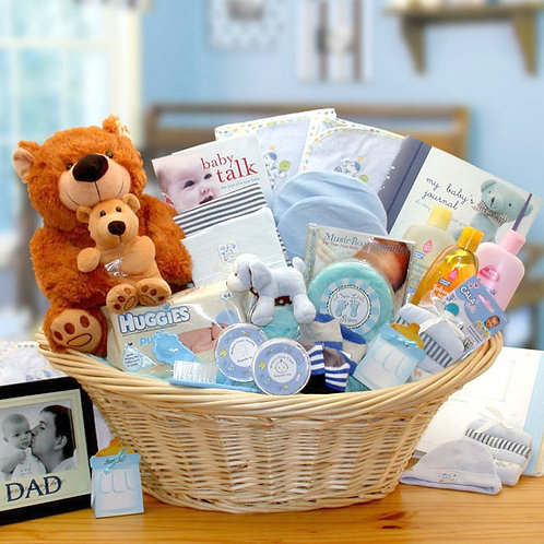 Deluxe New Baby Boy Gift Collection