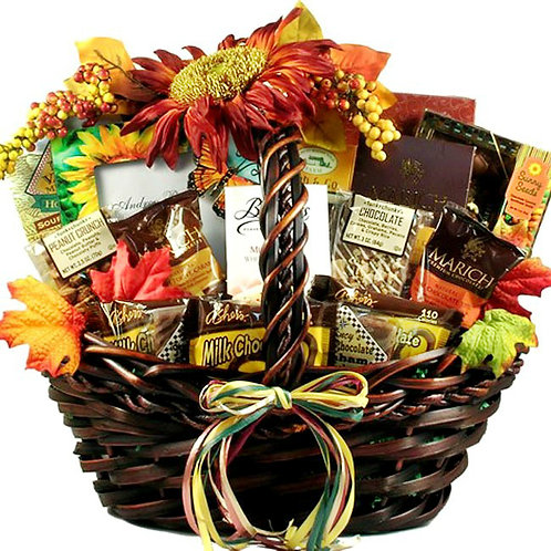 Celebrate Autumn With This Exquisite Fall Gift Basket