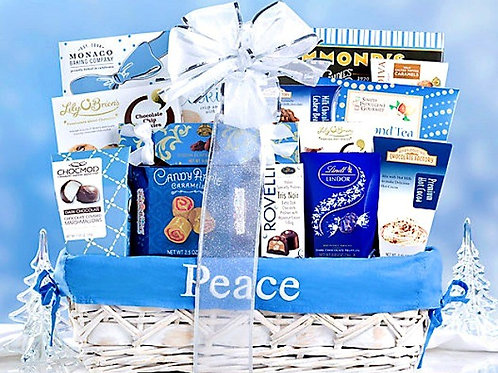 Peace on Earth Holiday Gift Basket