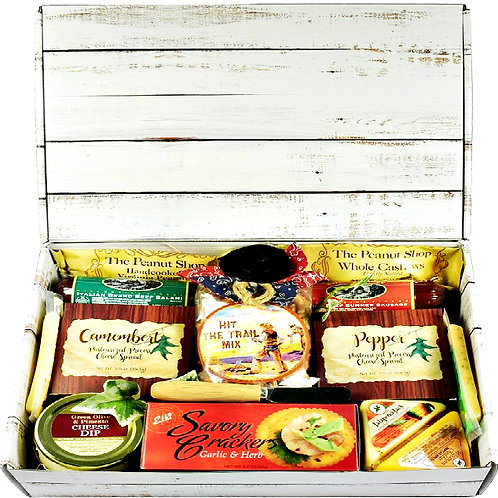 Care Package, Flavor Meat, Cheese & Nuts Gift Box