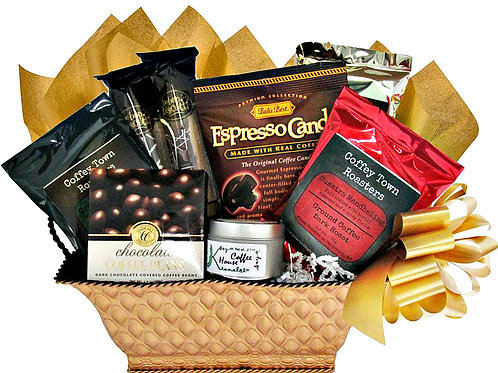Worldly Gourmet Coffee Basket, A Coffee Lover's Dream Gift