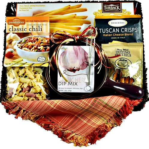 Cozy Comforts, Gift Tray Filled With Delicious Comfort Foods