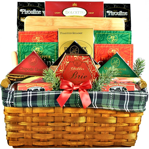 The Best In Gift Baskets, High Caliber Gourmet Gift
