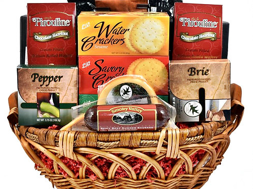 Nautical Anchors Away, Gourmet Gift Basket