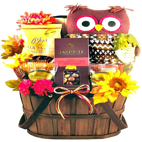 Fall Gift Basket, What A Hoot!