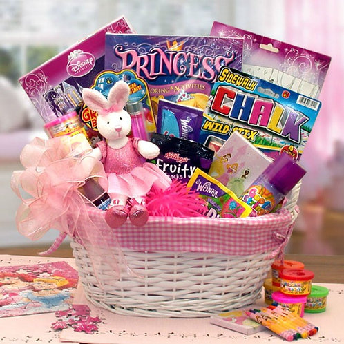 Little Girl Princess Treasure Basket