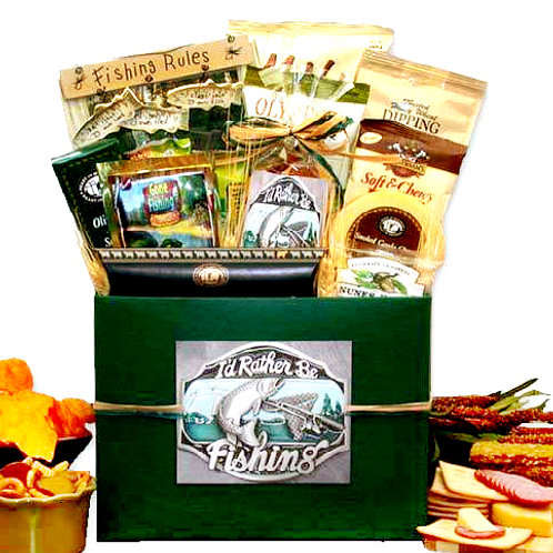 The Big Catch, I'd Rather Be Fishing Gift Box
