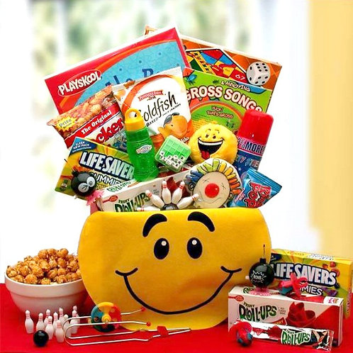 Kids Smiley Face Activity Gift Box