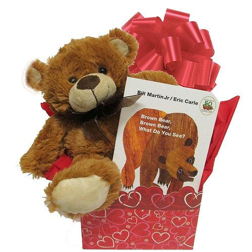 Brown Bear Baby Gift Set