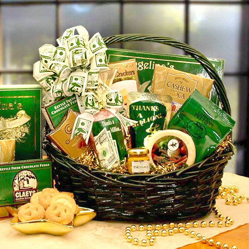 A Big Thank You Gift Basket to Extend Your Gratitude