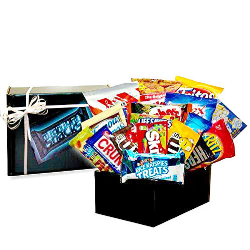 Midnight Munchies Gift Box, Snacks Care Package