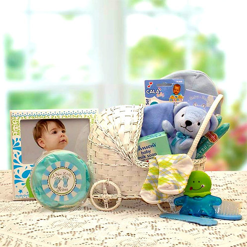 Bundle of Joy, Baby Boy Gift Carriage