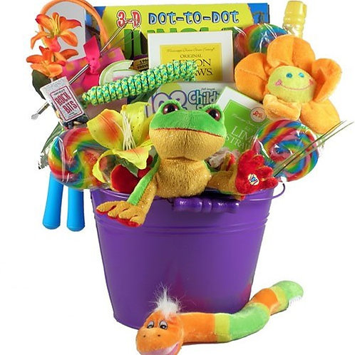 Kids Playtime Gift Basket