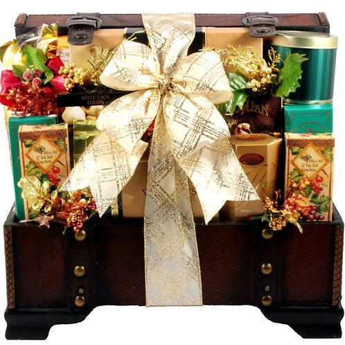 V.I.P. Gift Trunk, Impressive Gourmet  Gift Basket
