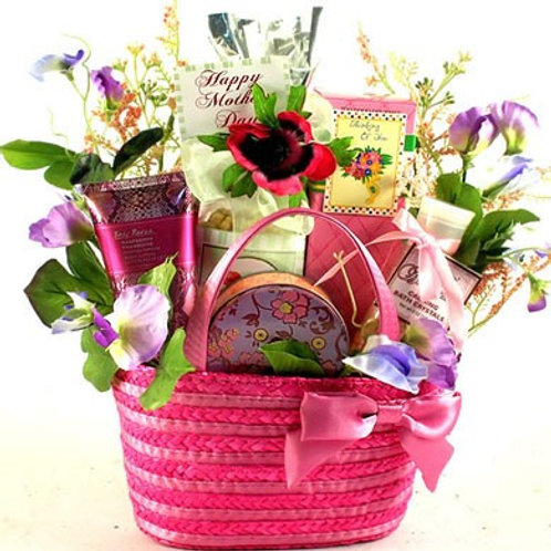 Lovely Lady, Gift Basket For Mom