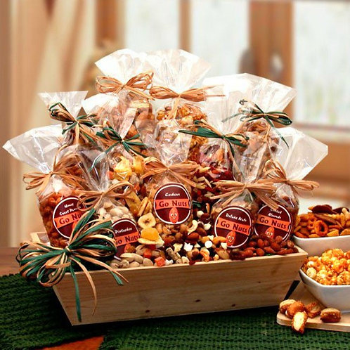 Go Nuts! Premium Nuts Gift Tray