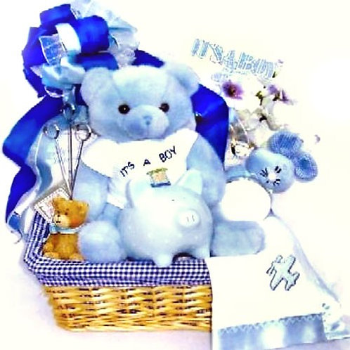 First Moments, New Baby Gift Basket