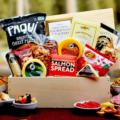 Delicious Macho Munchies Snack Gift Crate