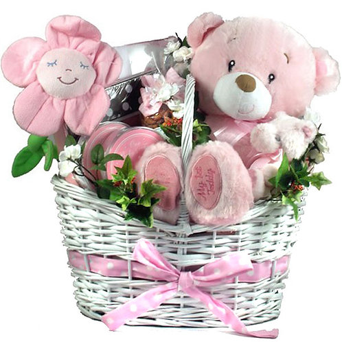 It's A Girl! Deluxe Baby Girl Gift Basket