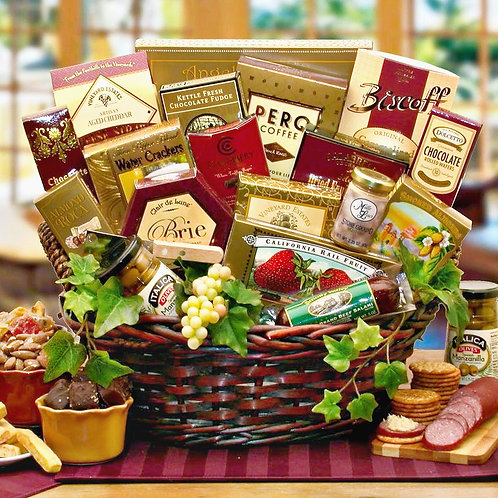 Ultimate Gourmet Food Gift Basket, Perfect All-Occasion Gift