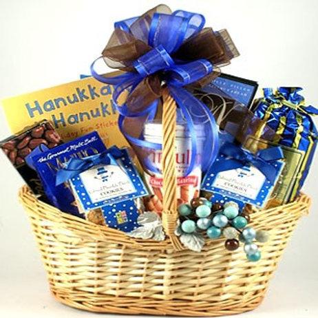 Hanukkah Family Gift Basket