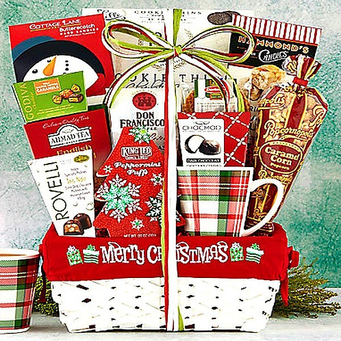 Christmas Tea and Coffee Basket