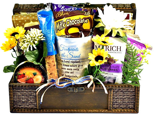 Comfort and Compassion, Uplifting Christian Gift Basket