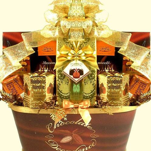 Gold Standard, Chocolate Gift Basket