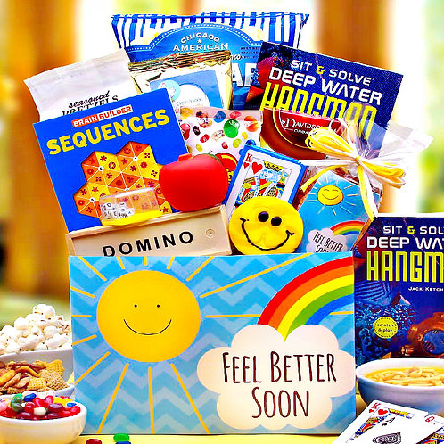 A Ray of Sunshine, Feel Better Soon Gift Box