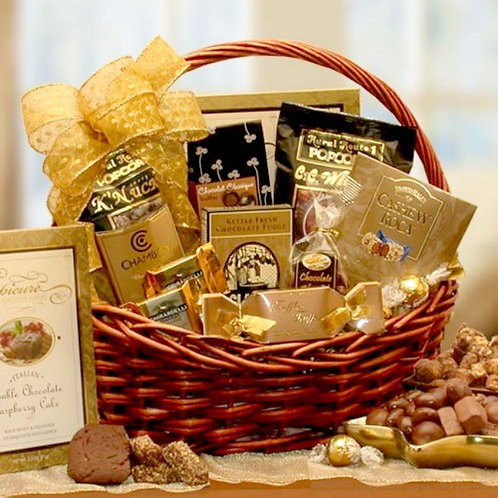 Chocolate Connoisseur Gift Basket