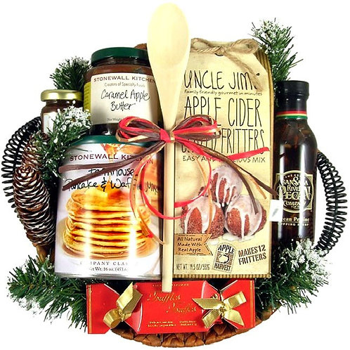 Hearthside Breakfast Gift Basket