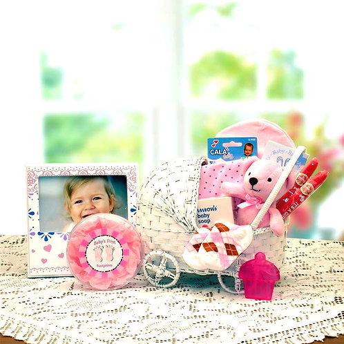 Bundle of Joy, Baby Girl Gift Carriage