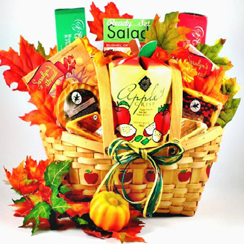Fall Gift Basket, Autumn Gift Idea, Thanksgiving Gift Baskets