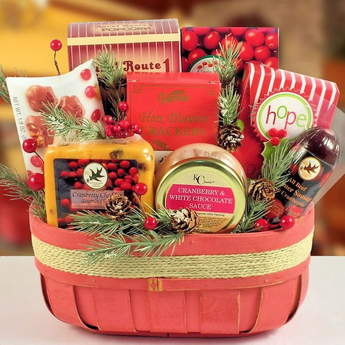 Heartwarming Christmas Basket