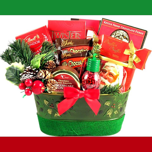 Christmas Surprise Gift Basket
